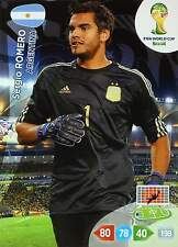PANINI ADRENALYN WORLD CUP BRAZIL 2014 - ARGENTINA - Base Cards to the search