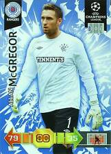 PANINI UEFA CL 2010-11 - GLASGOW RANGERS - BASE CARDS - TOP MINT