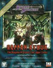 Necromance d20 Modules Rappan Athuk #1 - The Dungeon of Graves - The Uppe SC NM