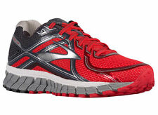 NEW MENS BROOKS ADRENALINE GTS 16 RUNNING SHOES TRAINERS HIGH RISK RED
