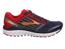 NEW WOMENS BROOKS GHOST 9 RUNNING SHOES TRAINERS PEACOAT NAVY / TRUE RED / GOLD