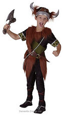Viking Boys Girls Saxon Warrior Norse Historical Costume Outfit 4-6-8-10-12 NEW