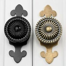 Retro Cabinet Door Round Pulls Handles Knobs For Chest Drawer Cupboard Decor