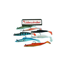 SIDEWINDER SUPER HOLOGRAPHIC SAND EELS ALL COLOURS 8""