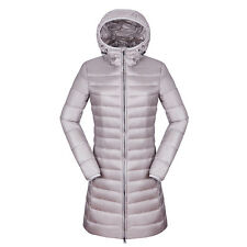 Winter Women's Puffer Ultra-light Duck Down Slim Fit Long Jacket Parka Warm Coat