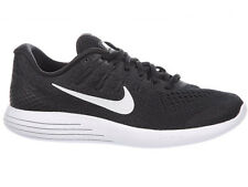 NEW MENS NIKE LUNARGLIDE 8 RUNNING SHOES TRAINERS BLACK / ANTHRACITE / WHITE