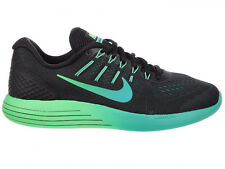 NEW WOMENS NIKE LUNARGLIDE 8 RUNNING SHOES TRAINERS BLACK / RIO TEAL / CLEAR JAD
