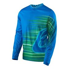 NEW Troy Lee Designs Mens GP Jersey Electro BLUE MX ATV Off Road Biking 30712830