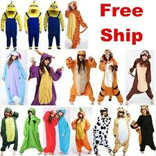 Hot Unisex Adult Pajamas Kigurumi halloween Cosplay Costume Animal Onesie Gift~~