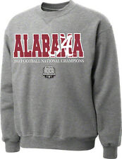 Alabama Crimson Tide 2011 National Champions Sweatshirt Roll Tide Bama NWT SEC