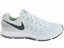 NEW WOMENS NIKE AIR ZOOM PEGASUS 33 RUNNING SHOES TRAINERS WHITE / PURE PLATINUM