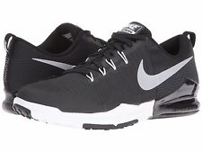 NIKE ZOOM TRAIN ACTION BLACK SILVER MENS CROSS-TRAINING SHOES **FREE POST AUST