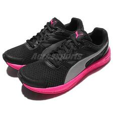 Puma Driver Wns Black Pink Womens Running Shoes Sneakers 189062-04
