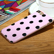 Cute Polka Dots Pattern Soft TPU Protective Case Cover For iPhone 7 & 7 Plus