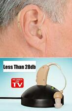 New Rechargeable Hearing Aids Personal Sound Voice Amplifierhind The Ear SE