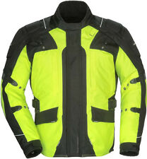 Tourmaster Transition 4 Motorcycle Jacket Hi Viz Yellow Free Size Exchanges