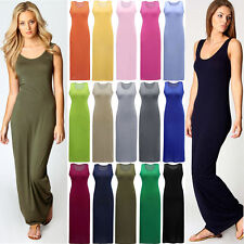 Womens Summer Cocktail Dress Boho Maxi Beach Evening Party Long Dresses S-2XL