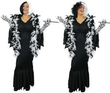 WOMENS DELUXE EVIL DOG LADY FANCY DRESS WITH ACCESSORIES FILM MOVIE CHARACTER
