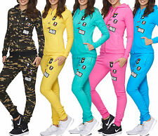 Women Ladies Airbone Colour Jogging Suit Running Jacket Trousers Trackies