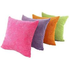 Trendy Velvet Square Cushion Cover Office Room Home Sofa Decor Throw Pillow Case