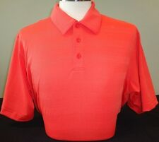 NEW MENS UNDER ARMOUR S/S HEATGEAR LOOSE FIT POLO GOLF SHIRT,PICK SIZE, RED, $75