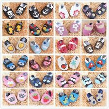 Genuine Leather Newborn Boot Infant Prewalker Boy Girl Baby Soft Sole Shoes