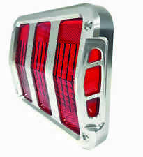 1964-66 Mustang Sidewinder Billet Tail Light Bezels