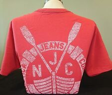 NEW MEN'S NAUTICA S/S GRAPHIC SOLID CREWNECK T-SHIRT, RED, PICK A SIZE