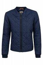 NEW Lee Nylon Bomber jacket Ladies Quilted Blue Women's SALE WOW