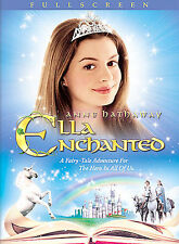 ELLA ENCHANTED DVD, 2004 Hugh Dancy, Anne Hathaway Full Screen LIKE NEW