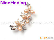Charms Pearl Gold Plated Crystal Brooch Pin Fashion Women Jewelry Christmas Gift