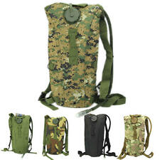 3L Hydration System Pouch Backpack Bladder Hiking Climbing Survival Water Bag