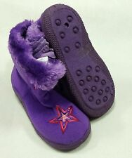 NWT CHATTIES INFANT / TODDLER PURPLE GIRLS BOOTS SIZES 5-10