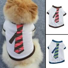 Lovely Small Pet Puppy Small Dog Cat Pet Clothes Vest T-Shirt Dress Apparel New