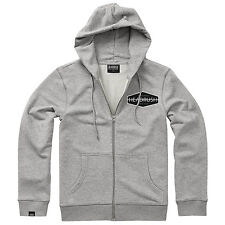 Headrush Diamond Zip Hoodie - Grey