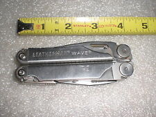 Leatherman WAVE Multi Tool Pliers Knife MultiTool USA 17 tools in 1