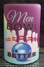 TENPIN BOWLING STUBBY HOLDERS 9 Designs  -  Pick ONE ONLY - Great Gift idea