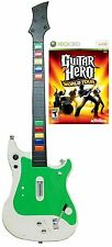NEW XBox 360 World Tour Video Game + Wireless Guitar Hero Controller Kit bundle