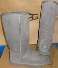 UGG Australia Women's Gray Classic Tall Grey Boots Size US 6, EU 37 NEW  #5815