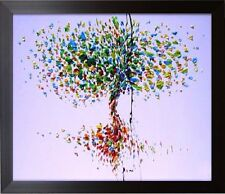 Tree of Life - New Beautiful Palette Knife Oil Painting Modern Art on Canvas