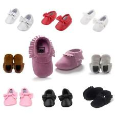 Baby Moccasins Soft Sole Anti-Slip Tassels Toddler Shoes First Walking Shoes