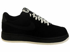 NEW MENS NIKE AIR FORCE 1 LOW BASKETBALL SHOES TRAINERS BLACK / SAIL / BLACK