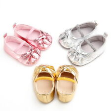 2016 Girl Toddler Baby Kid Flower Princess Dress Slip On Soft Flats Shoes SGLI