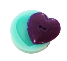 Reuseable silicone button mold mould resin jewelry making crafts hairpieces