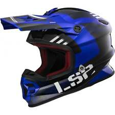 LS2 Light Evo MX456 Rallie Motocross MX Enduro Quad Adults Helmet - Blue