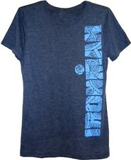 IRONMAN Triathlon Women's Tribal Spellout T-Shirt - Navy Charcoal *New with Tags