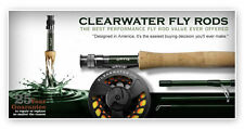 Orvis Clearwater Freshwater Fly Rod/Reel Outfit with free shipping and no tax