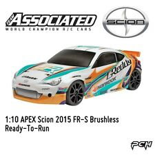 Team Associated 1:10 APEX Scion 2015 FR-S Brushless Electric RC Car RTRASC30116