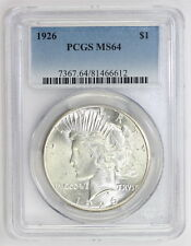 1926 Peace Silver Dollar MS 64 PCGS (#6612)