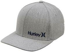 Hurley Corp Textures Hat - Wolf Grey - New